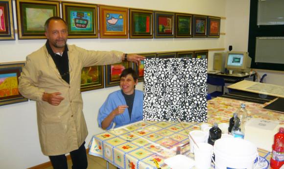 L' atelier degli artisti e la casa senza tetto